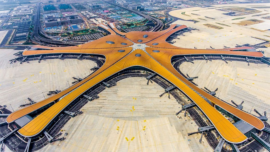 Aeropuerto Internacional de Daxing, China.