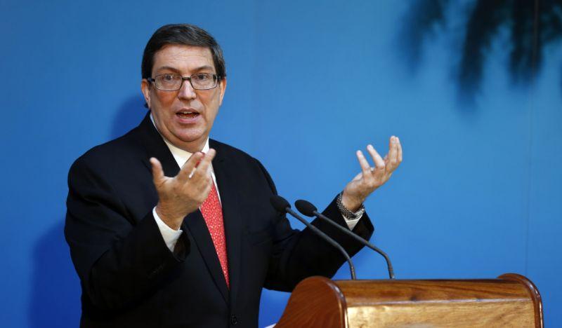 Bruno Rodríguez Parrilla, ministro de Relaciones Exteriores de Cuba
