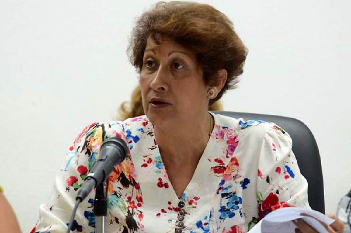 Ana Elsa Velázquez, Minister of Education.
