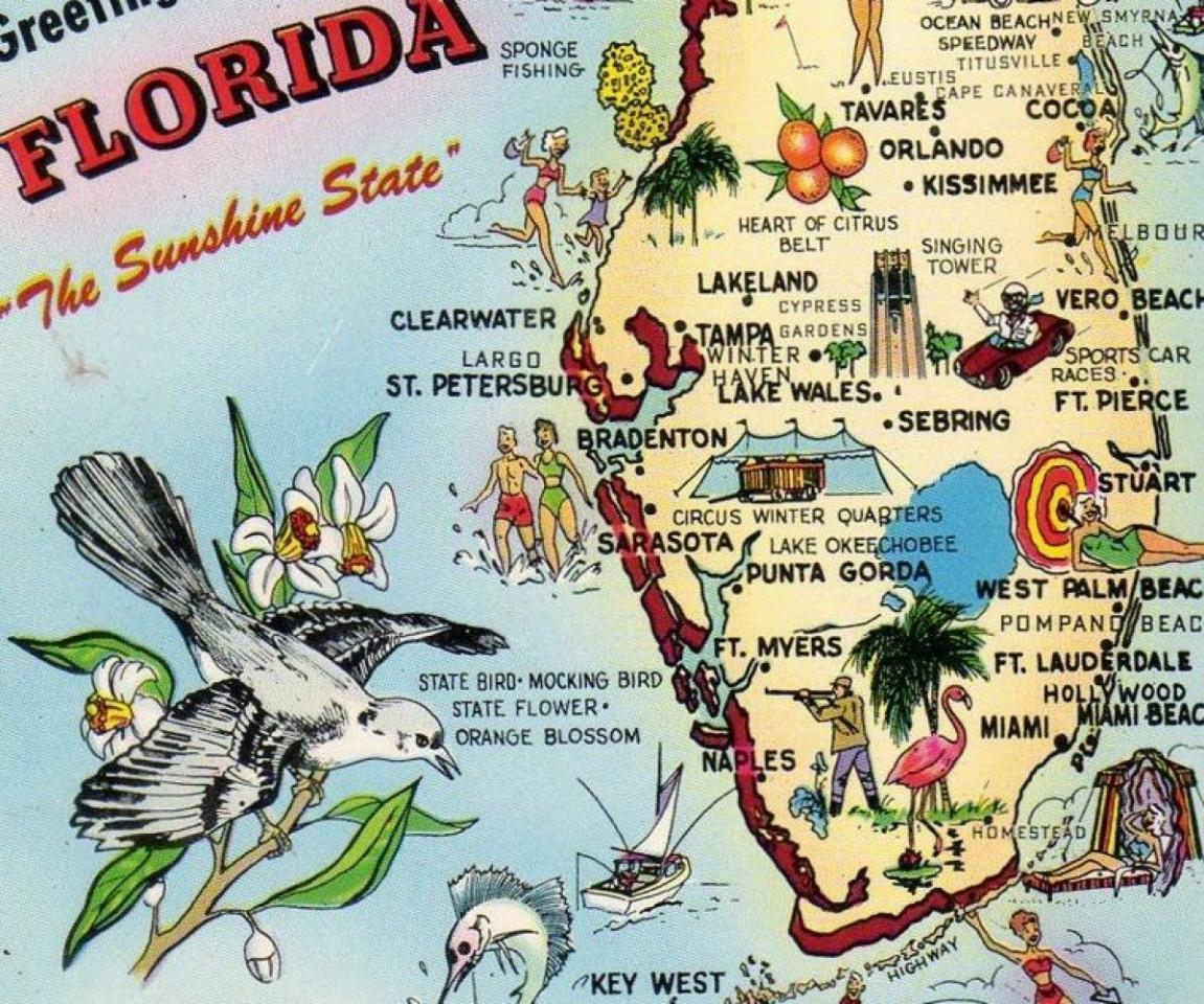 el mapa de las lágrimas del sur de la florida | diario de cuba