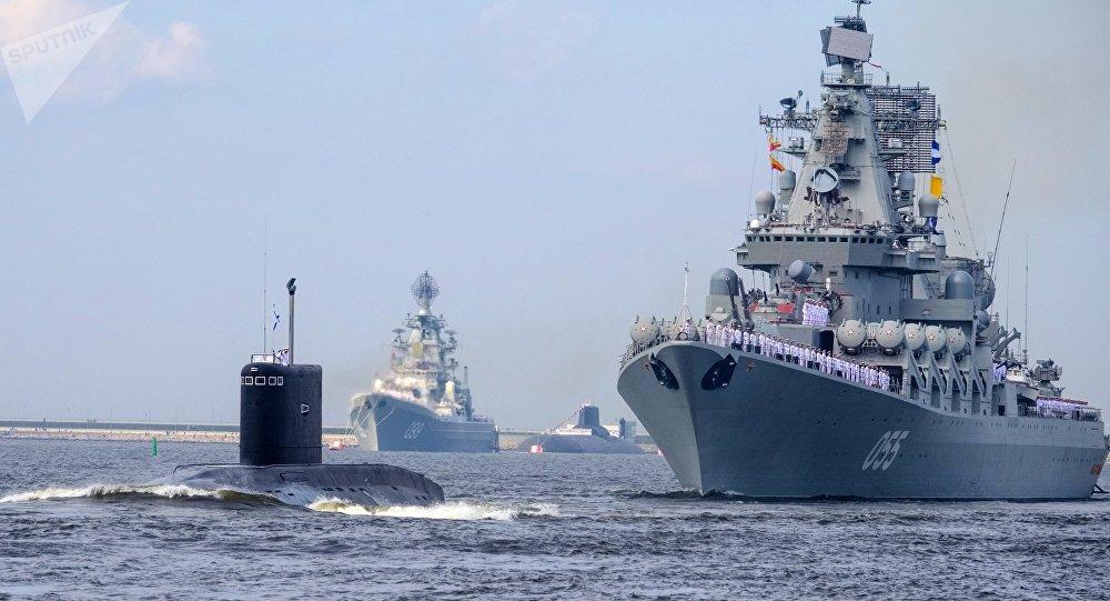 Armada rusa.