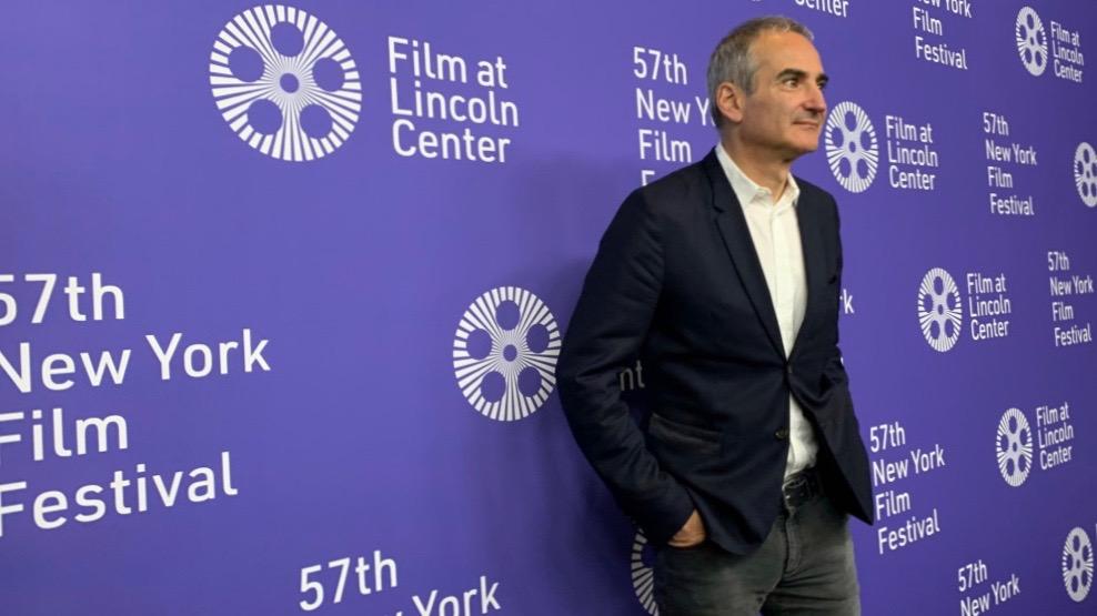 Oliver Assayas en el Festival de Cine de Nueva York.