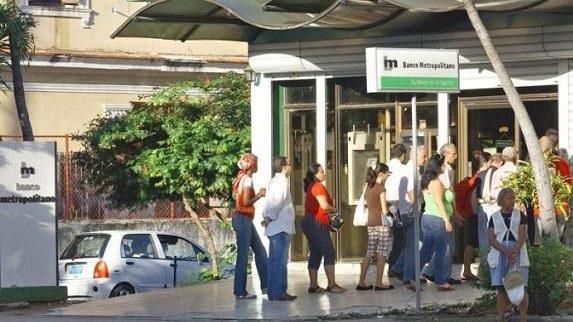 Banco Metropolitano en La Habana.