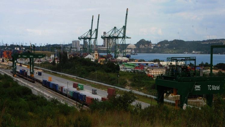 Puerto de la Zona Especial de Desarrollo del Mariel.