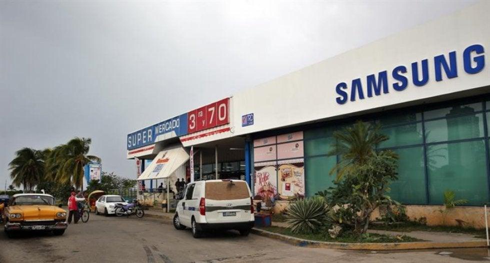 Tienda en Cuba.