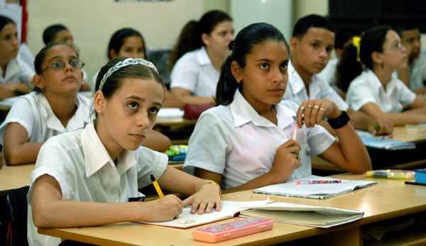 Secundaria en Cuba.