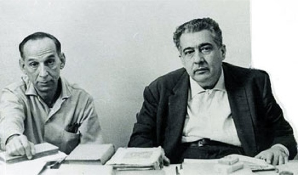 Virgilio Piñera y José Lezama Lima.