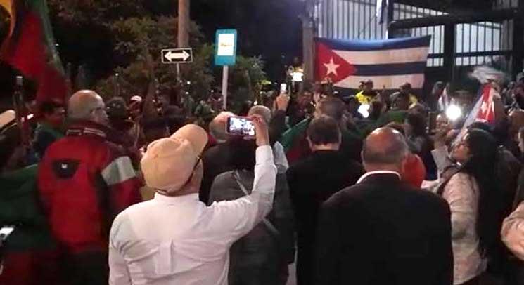 Embajada de Cuba en Colombia rechaza acusaciones de infiltrar el Paro Nacional