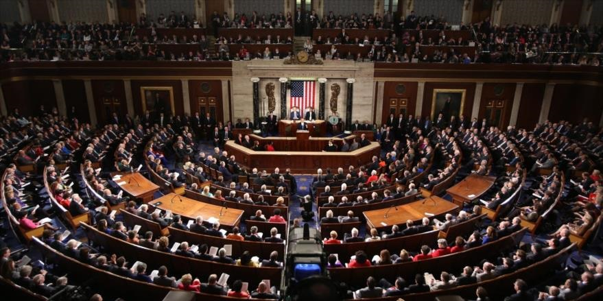 Sesión del Congreso de EEUU.