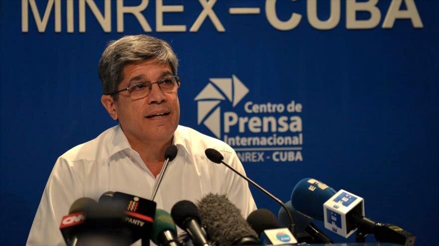 El director general para EEUU de la Cancillería cubana, Carlos Fernández de Cossío.