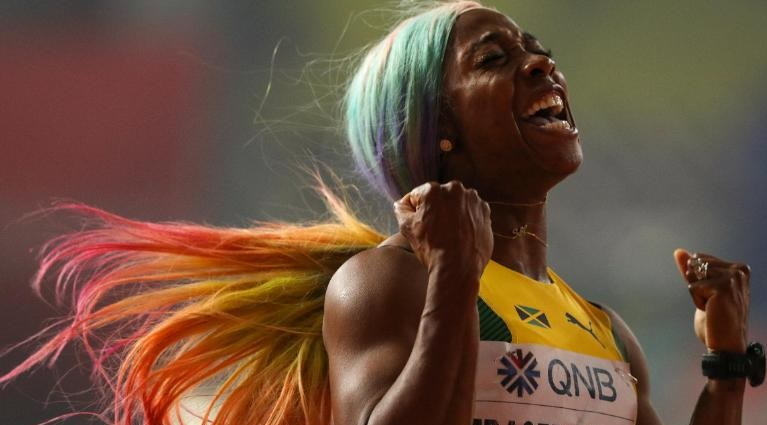 Shelly-Ann Fraser-Pryce.