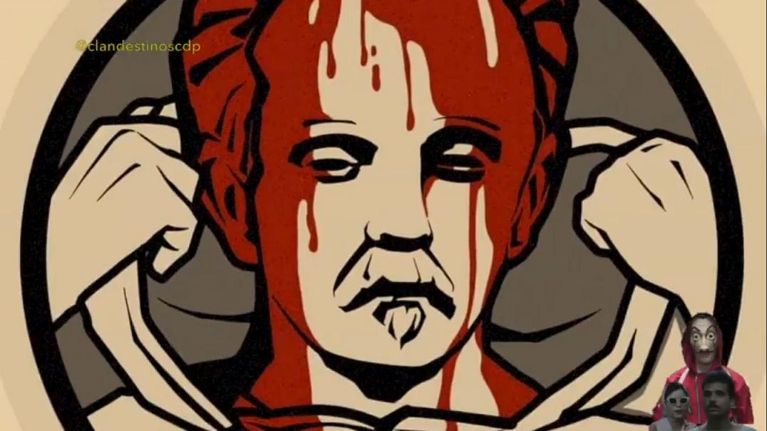 Captura de pantalla de video publicado por Clandestinos.