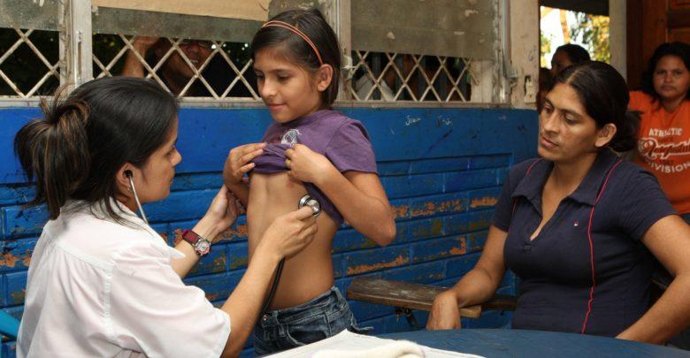 Médica cubana en Venezuela.