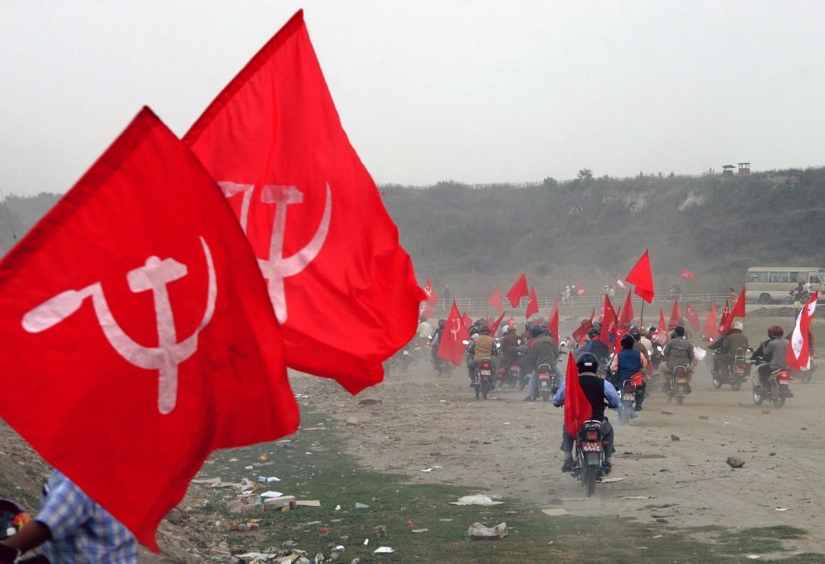 Activistas comunistas en Indonesia.