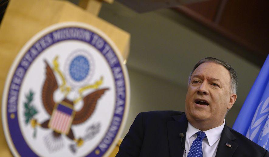 Mike Pompeo, secretario de Estado de EEUU