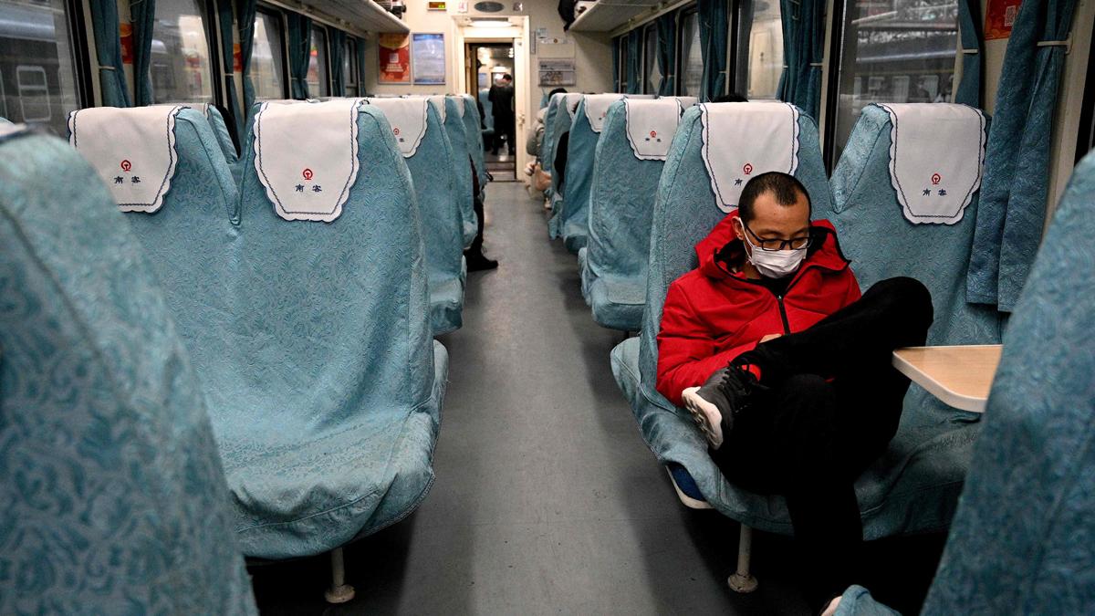 Un tren en China.