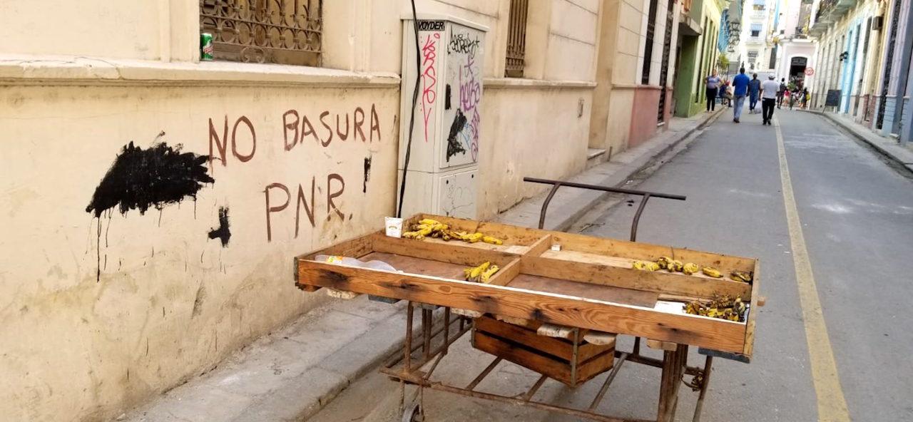 Carretilla en La Habana.