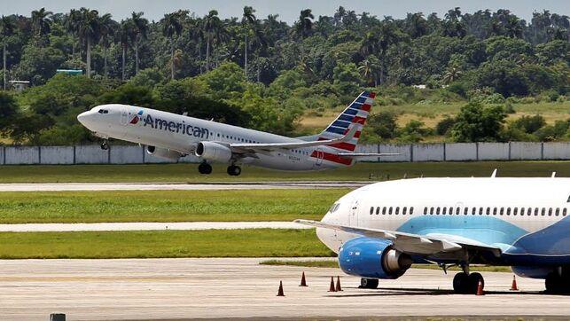 Vuelo de American Airlines a Cuba.