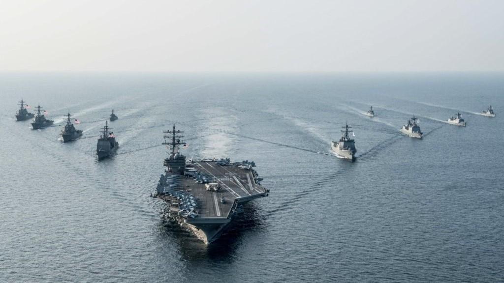 Flota de guerra de EEUU.