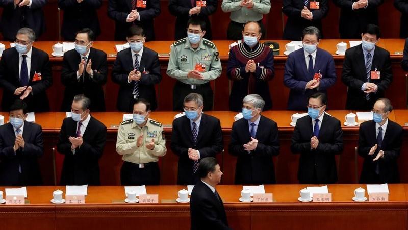 Xi Jinping en la sesión de apertura de la Conferencia Consultiva Política del Pueblo Chino