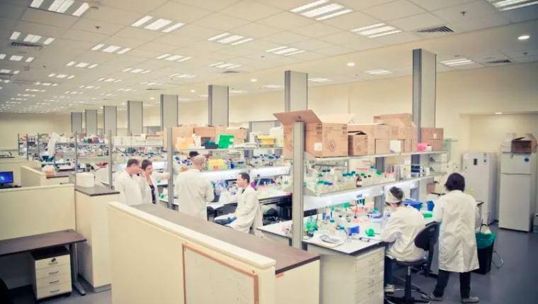 Laboratorio en Israel.