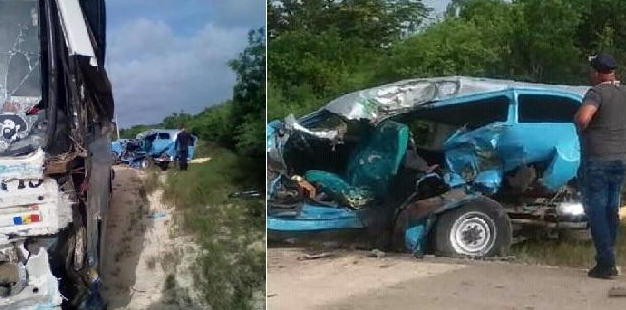 Fotos del accidente.