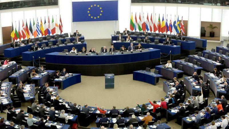 Hemiciclo del Parlamento Europeo.
