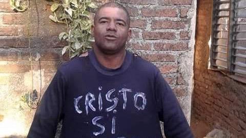 El opositor Yosvany Arostegui Armenteros.