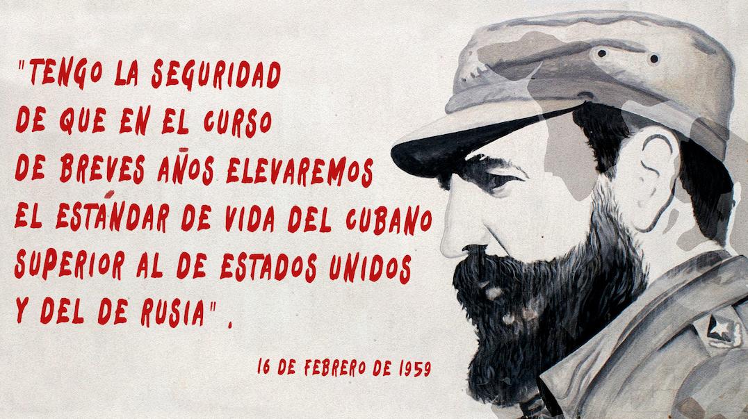 Una de las grandes promesas económicas de la revolución.