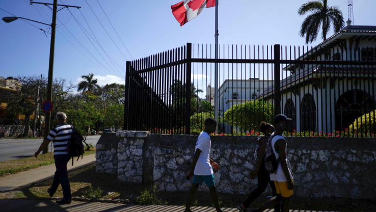 Embajada de Canadá en La Habana.