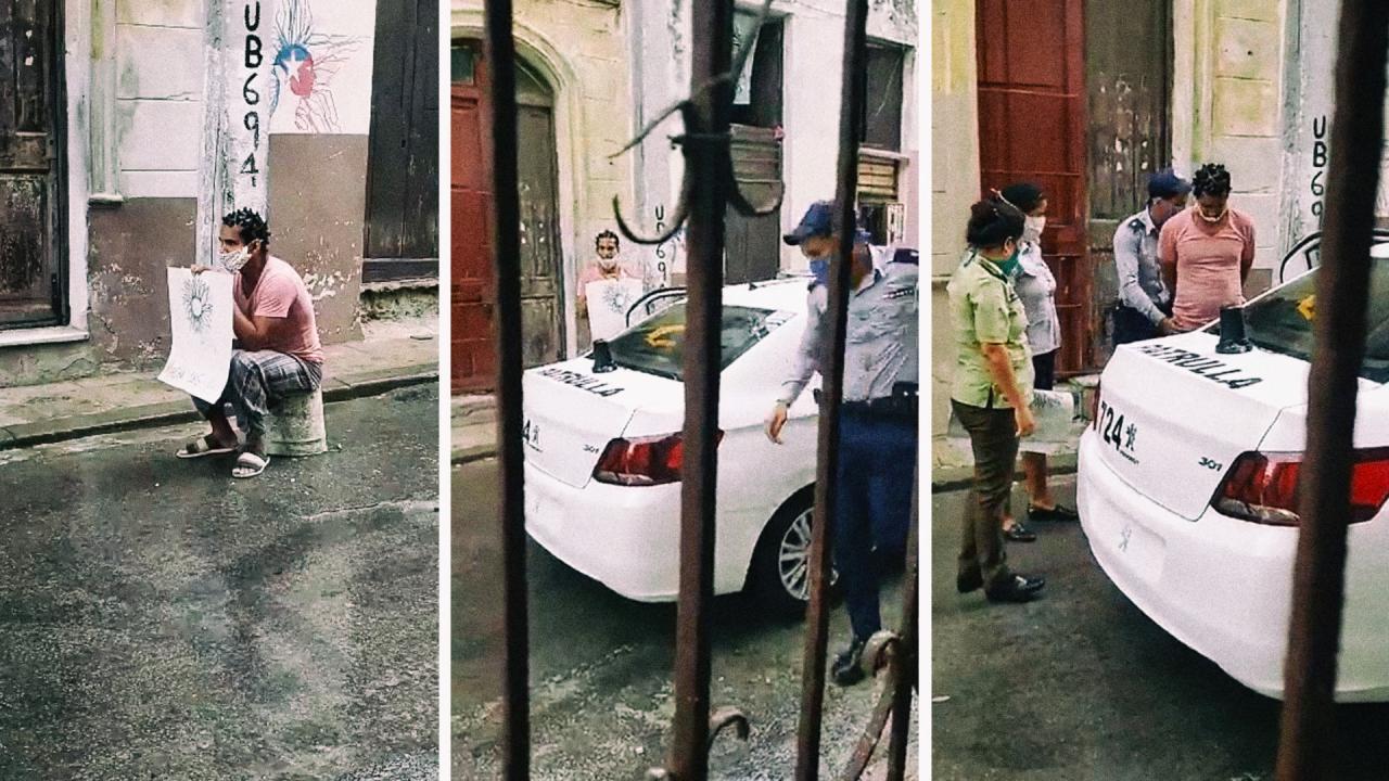 La Policía detiene a Luis Manuel Otero Alcántara.