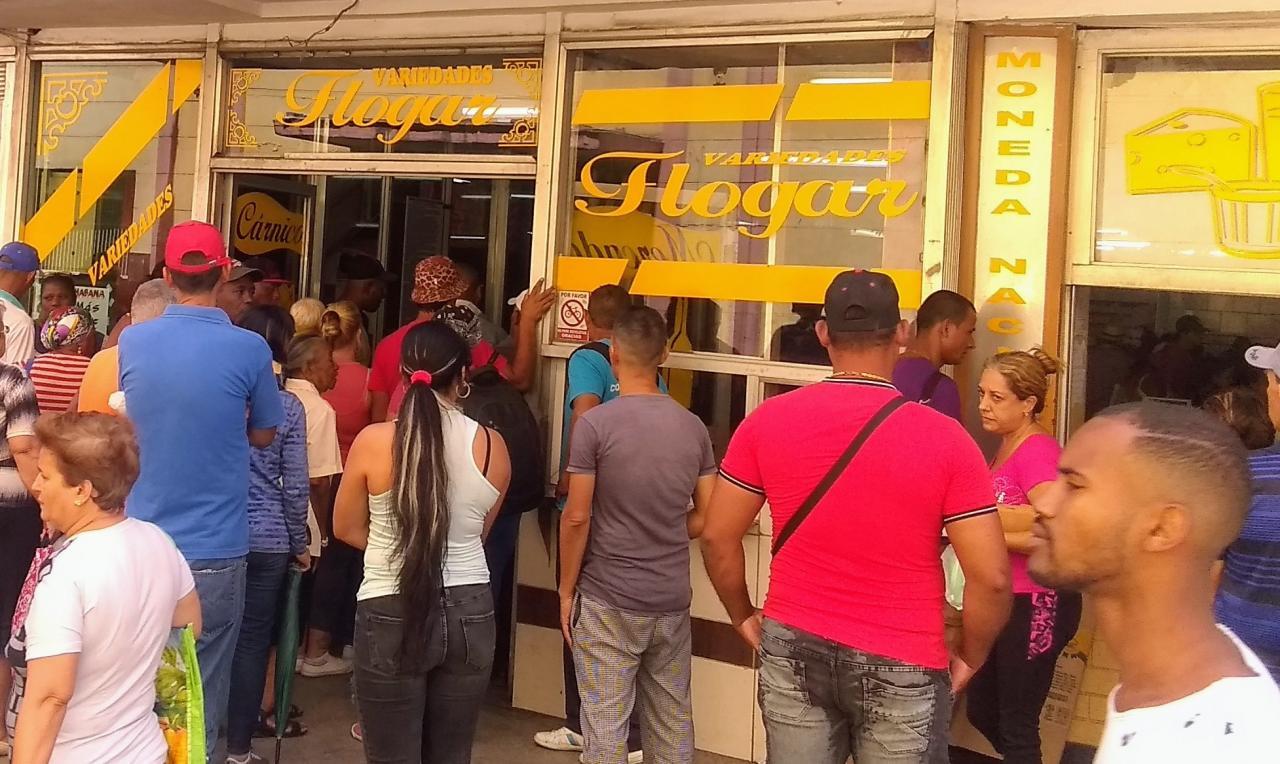 Tienda en La Habana.