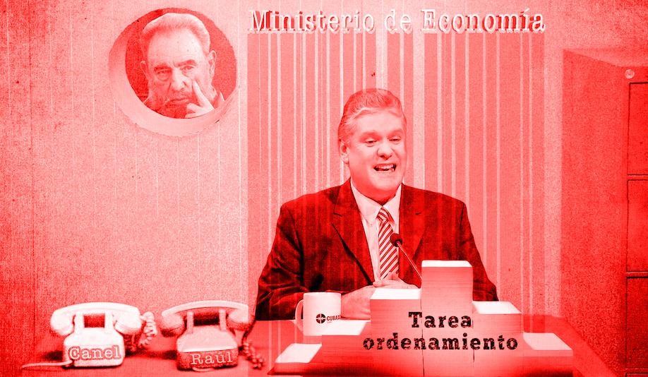 Alejandro Gil, ministro de Economía. Ilustración.
