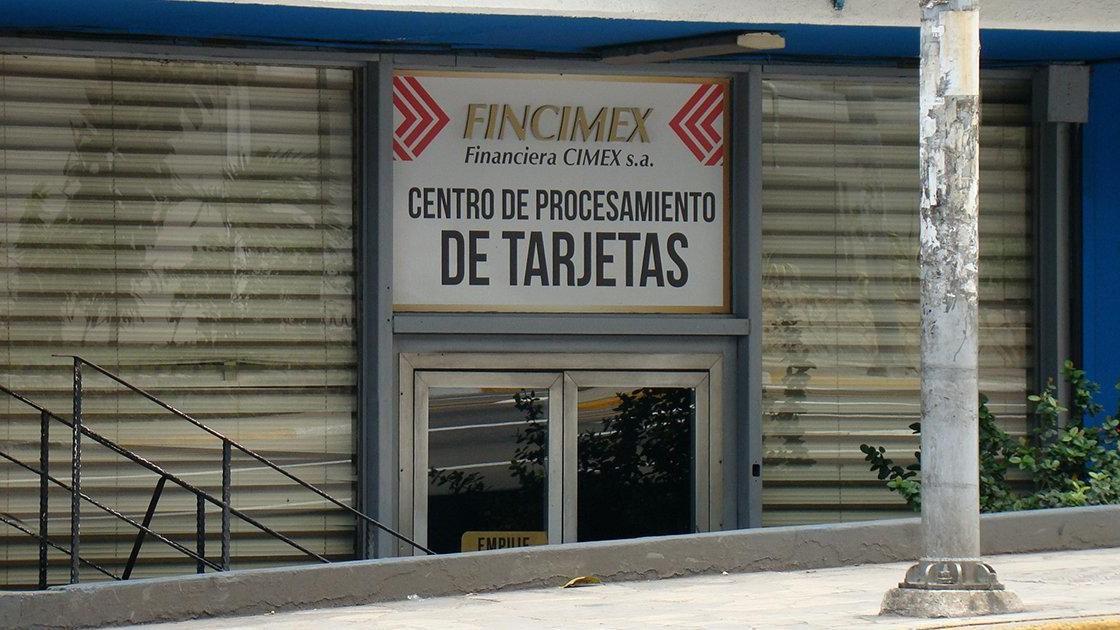 Oficina de FINCIMEX en La Habana.