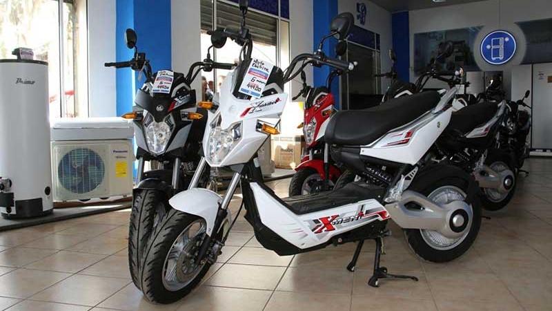 Tiendas Caribe venden nuevo modelo de motos eléctricas