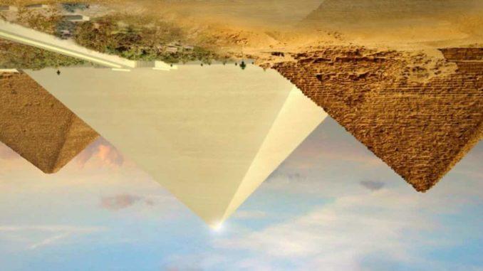 Pirámides invertidas.