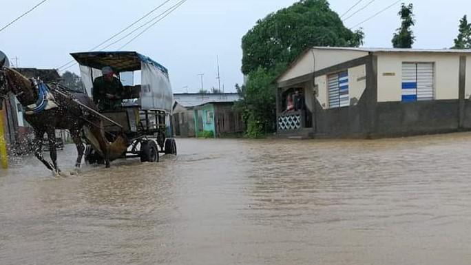 Inundaciones en Manzanillo.