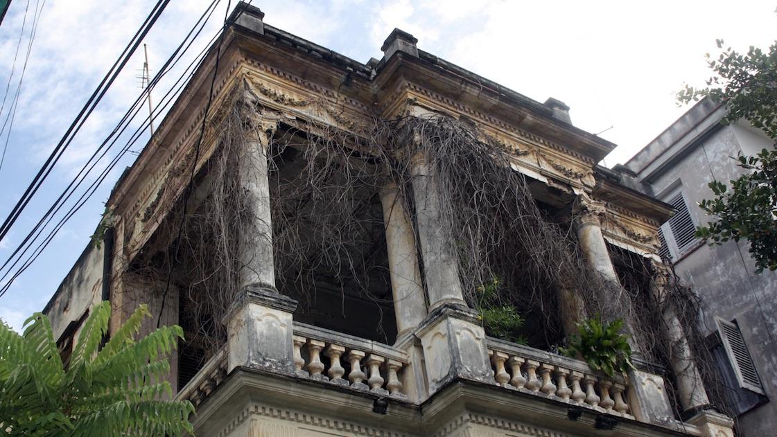 Edificio en La Habana.