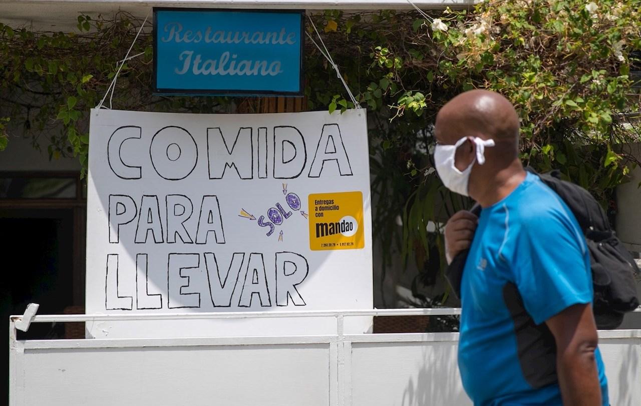 A private business in Havana.