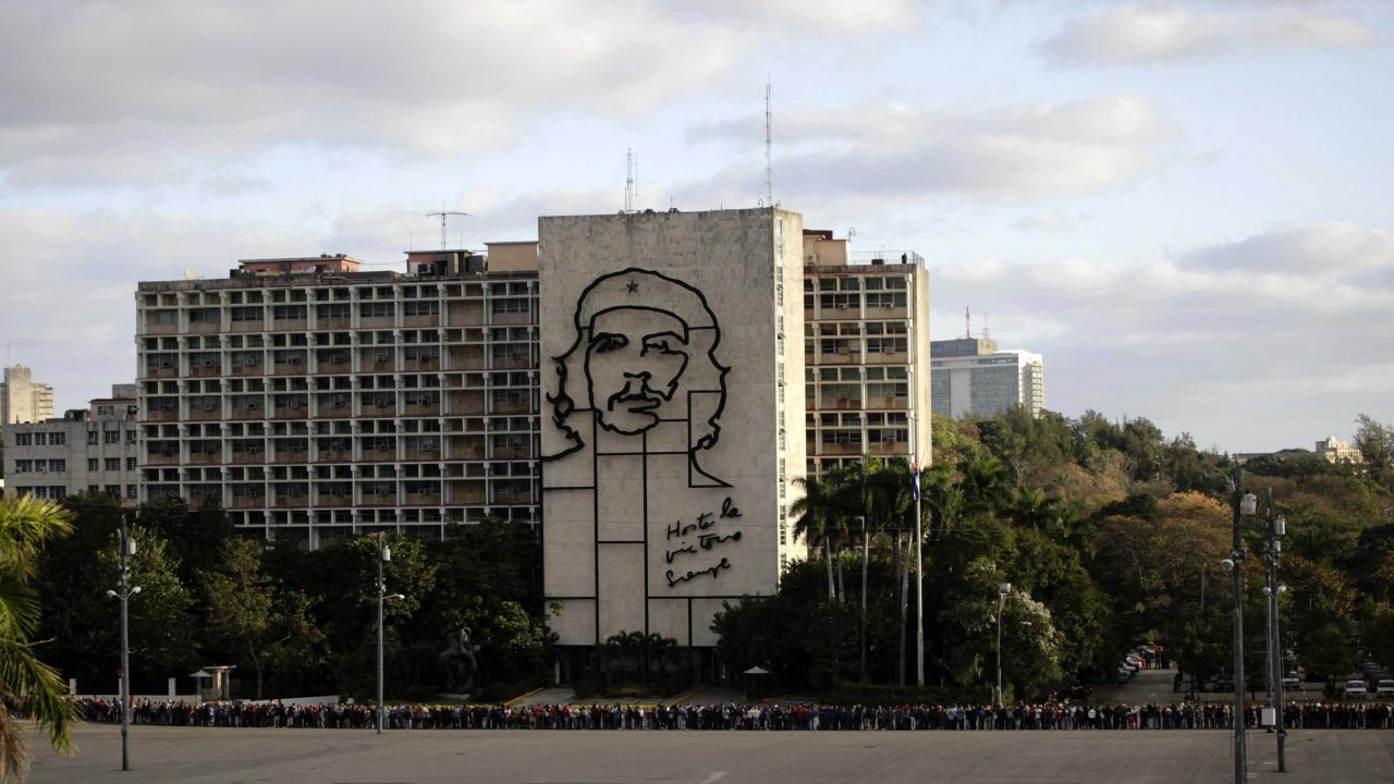 Sede del Ministerio del Interior en La Habana.
