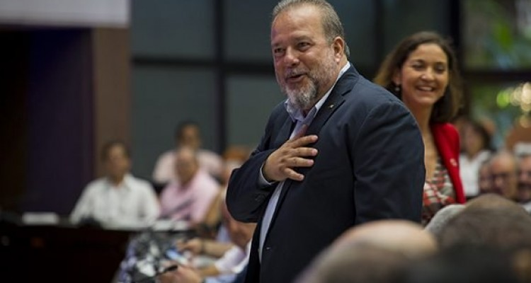 Manuel Marrero, primer ministro de Cuba.