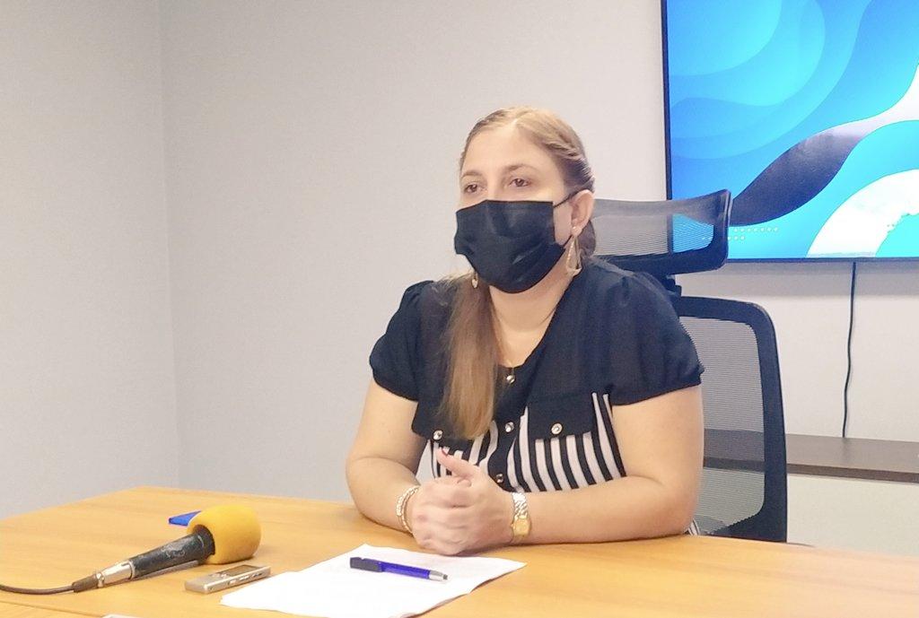 Katia Alonso, directora de Negocios del MINCEX