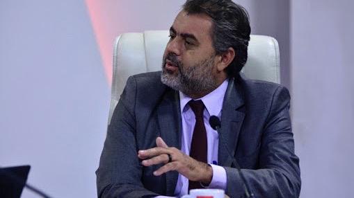 Marcelo Resende, representante de la FAO en Cuba, en la oficialista 'Mesa Redonda'.