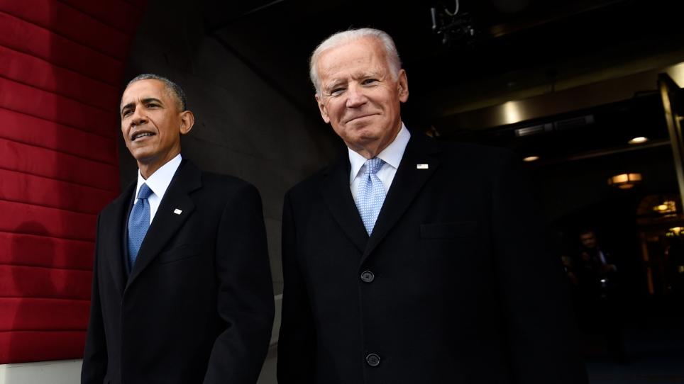 Barack Obama y Joe Biden.