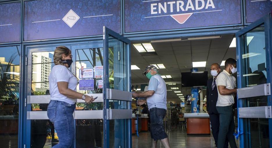 tienda en MLC en La Habana.