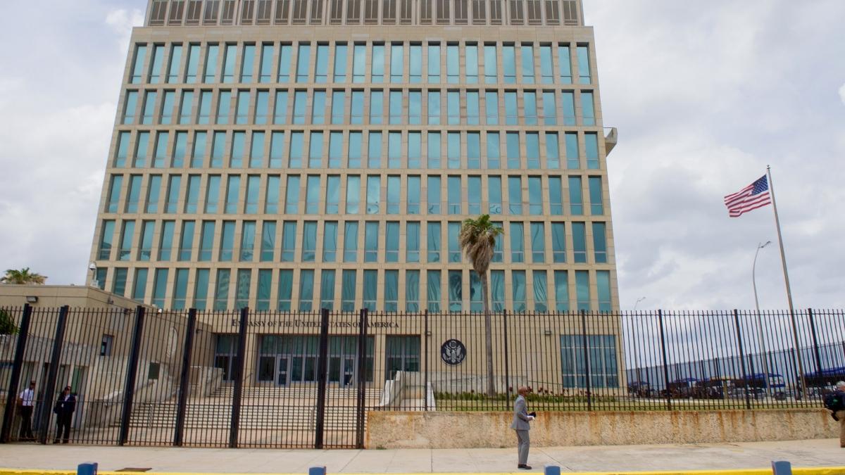 US-Botschaft in Havanna | Bildquelle: https://t1p.de/umlr © State Department | Bilder sind in der Regel urheberrechtlich geschützt