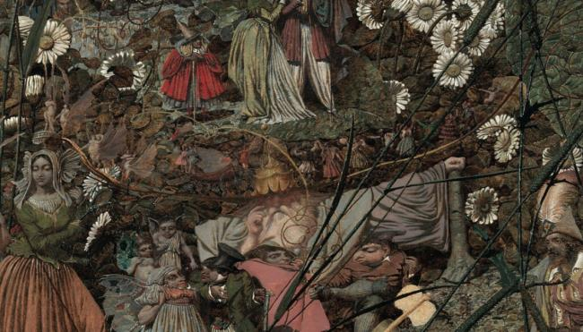 'The Fairy Feller's Master-Stroke' (fragmento).
