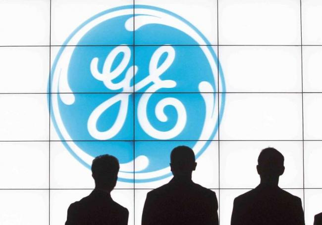 Logo de General Electric.
