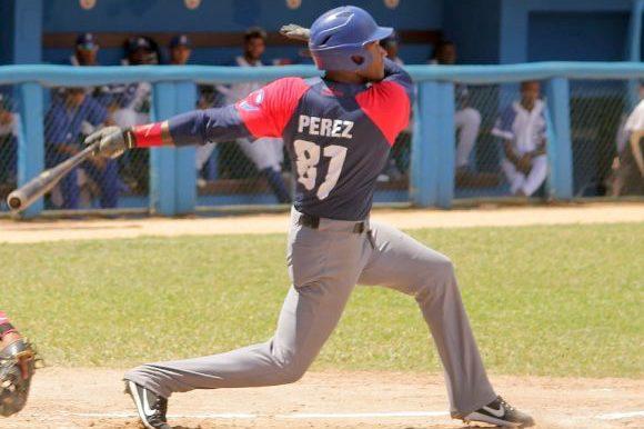 El camagüeyano Yosbel Pérez.
