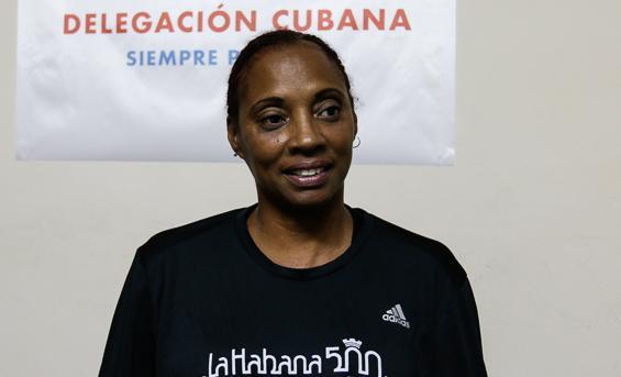 La exatleta Odalys Hernández Venet.